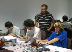 Dr. Zhang and Students